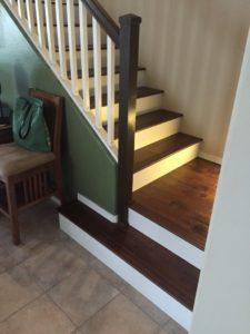 custom wood stairs by jmb design llc Scottsdale 2