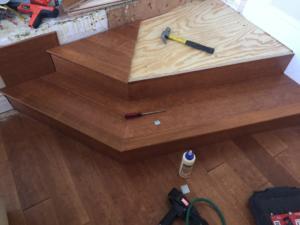 Custom Wood and steps In Arcadia 1