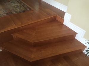 Custom Wood and steps In Arcadia 4