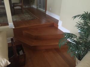 Custom Wood and steps In Arcadia
