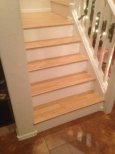 JMB Design LLC_ Custom laminate wood stairs